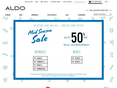 Free Aldo discount codes & promotion codes for December Get instant savings with valid Aldo vouchers, offers and coupons from maump3.ml