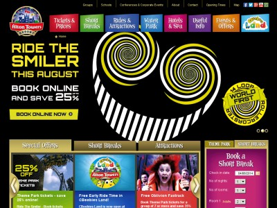 For Alton Towers we currently have 0 coupons and 11 deals. Our users can save with our coupons on average about $ Todays best offer is Join Twitter For Latest Discounts Special Offers and Promotional Discounts at Alton Towers.