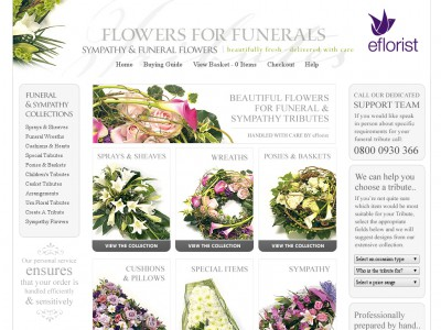 Flowers for Funerals