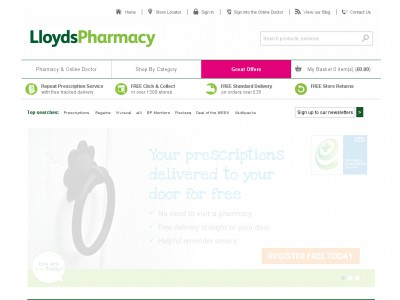 Using Lloyds Pharmacy Discount Codes. Lloyds are always running discount code promotions across their range, and these deals are listed as they emerge at HotUKDeals. Using their discount codes is simple: When you find a deal, note down the code and head to the Lloyds Pharmacy site. Add items to your shopping basket, which correspond to the deal.