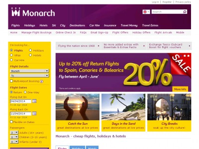 Monarch discount code / Save on holidays, flights & hotels About Monarch. Monarch, which is part of the Monarch Travel Group, has been going strong since the s, and today flies more than 90, passengers direct from the UK to a host of popular destinations all year round.