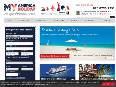 My America Holiday