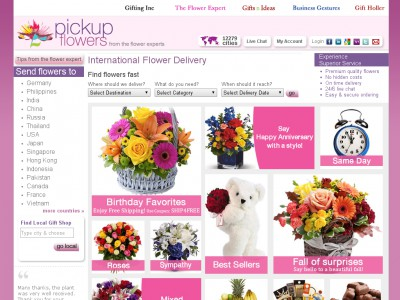 Pick Up Flowers