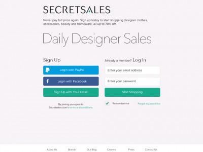 Secret Sales
