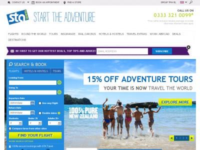 Sta Travel Promo Code Uk
