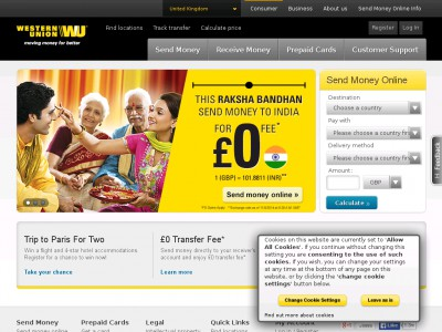 Western union online shopping : Online Coupons