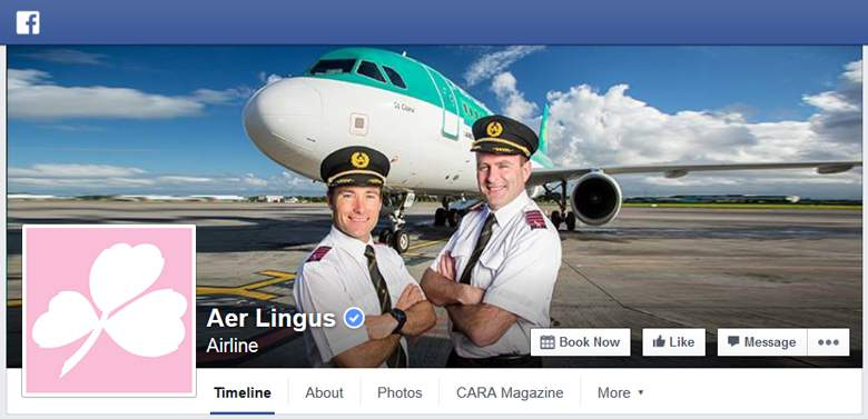 Aer Lingus on Facebook