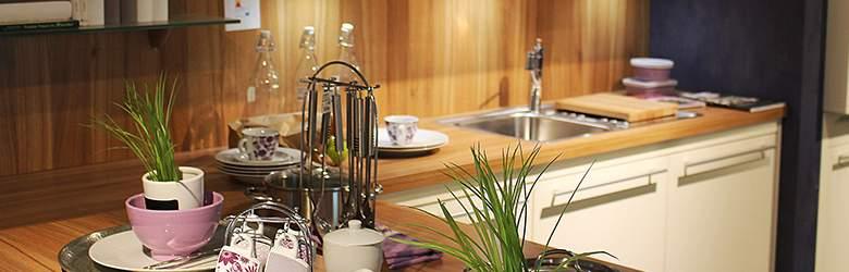 Kitchen furniture by B&Q
