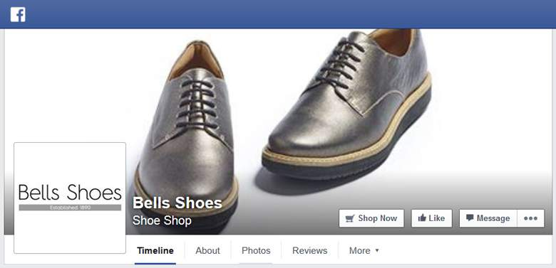 Bells Shoes on Facebook