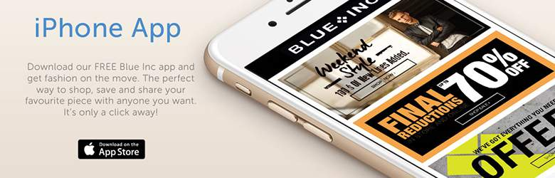 Blue Inc Mobile App