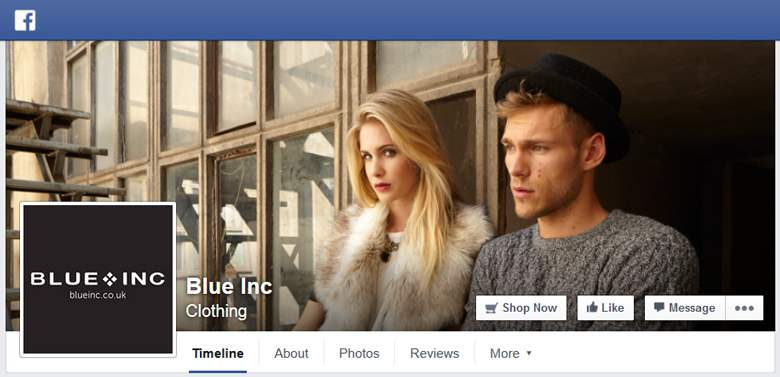 Blue Inc on Facebook