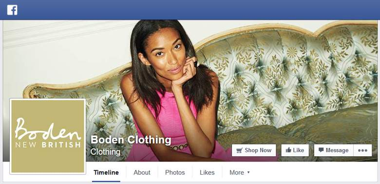Boden on facebook