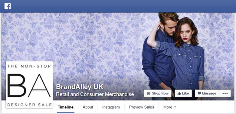 BrandAlley on Facebook