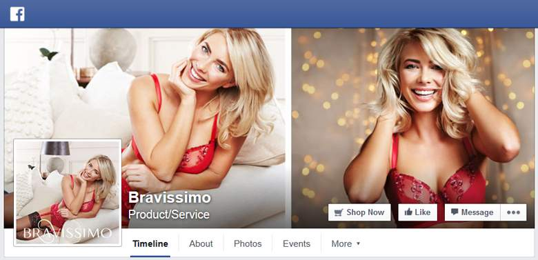 Bravissimo on Facebook