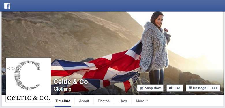 Celtic Sheepskin on Facebook