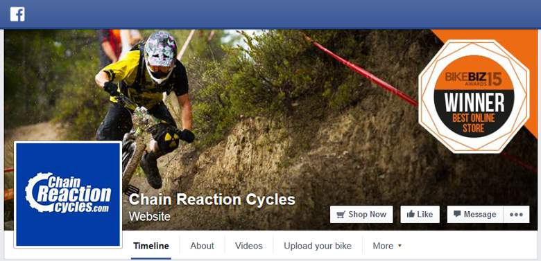 Chain Reaction Cycles at Facebook