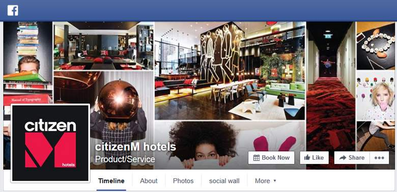 CitizenM on Facebook