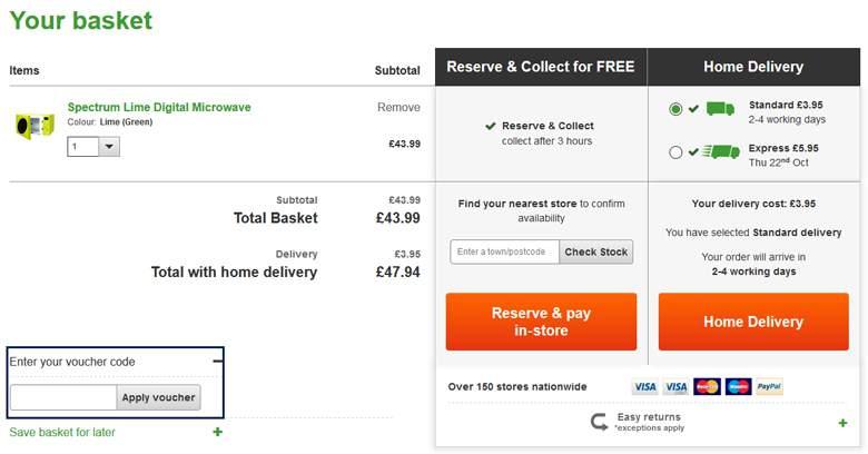 Dunelm discount coupons