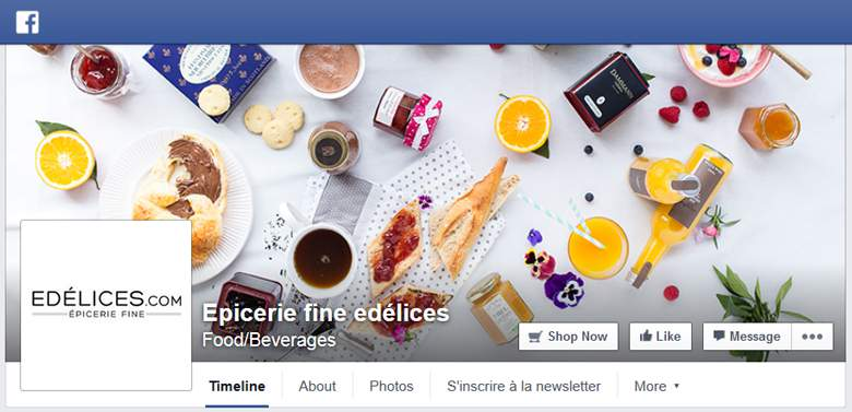 Edelices on Facebook