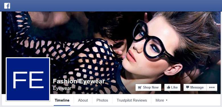 Fashion Eyewear on Facebook