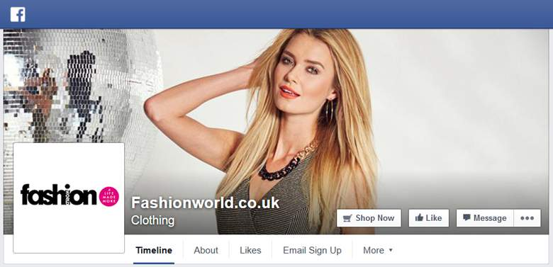 Fashion World on Facebook