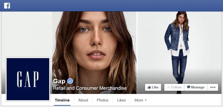 GAP at Facebook