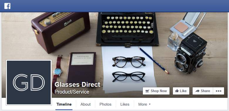 Glasses Direct on Facebook