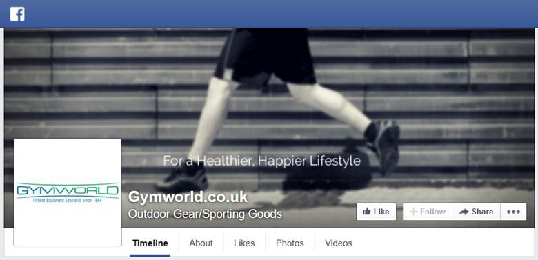 Gym World on Facebook