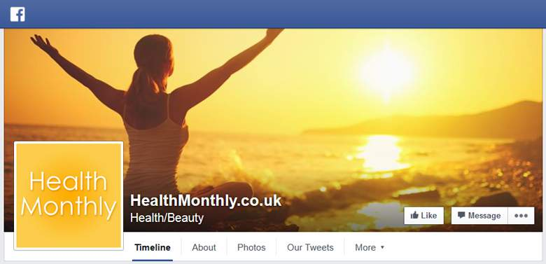 HealthMonthly on Facebook