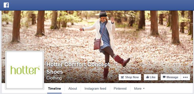 Hotter Shoes on Facebook