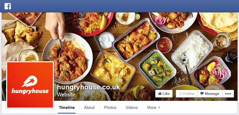 Hungryhouse on Facebook