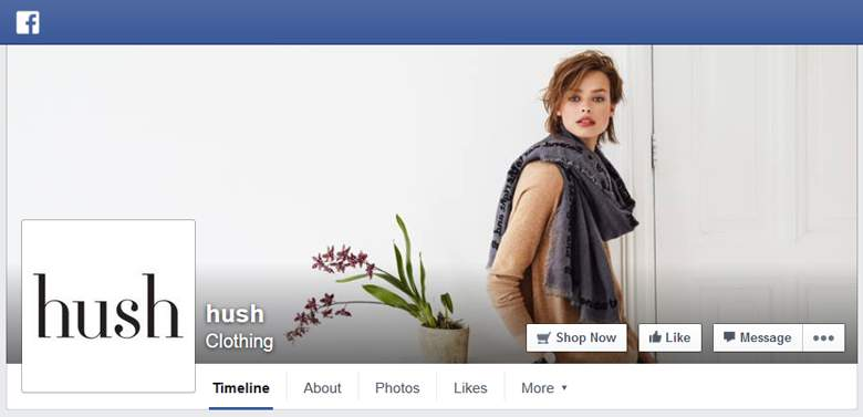 Hush on Facebook
