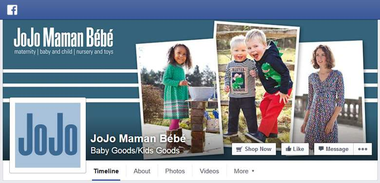 Jojo Maman Bebe on Facebook