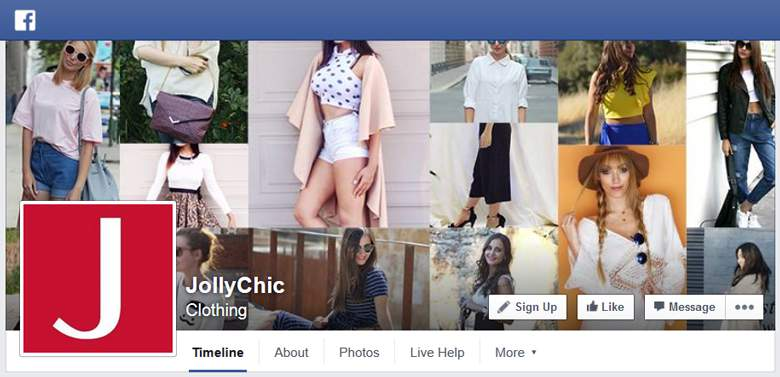 Jolly Chic on Facebook