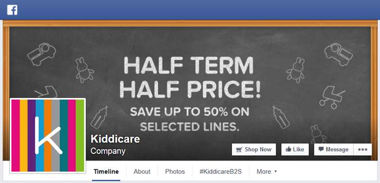 Kiddicare on Facebook