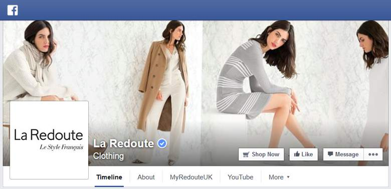 La Redoute on Facebook