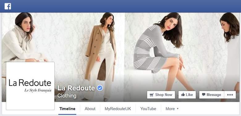 La Redoute on Facebook