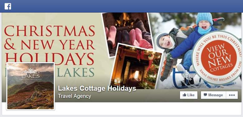 Lakes Cottage Holiday on Facebook