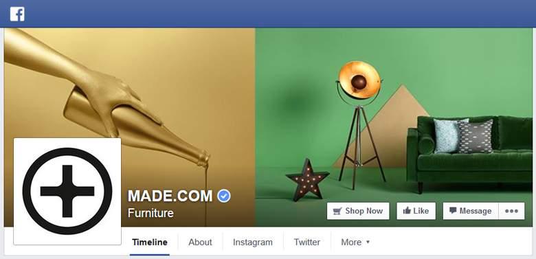 Made.com on Facebook