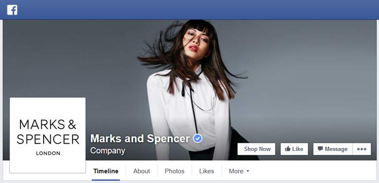 Marks and Spencer on Facebook