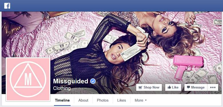 Missguided on Facebook