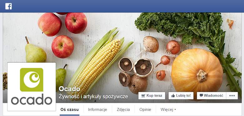Ocado by facebook