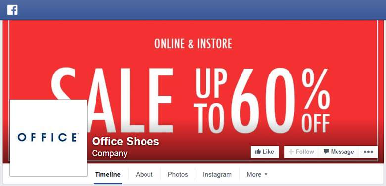 Office Shoes on facebook
