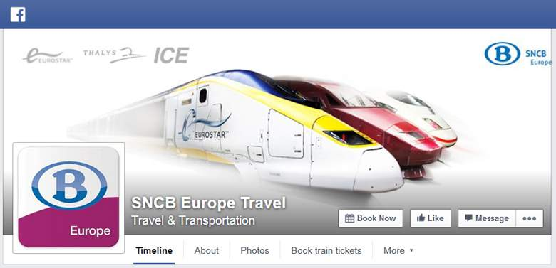 SNCB on Facebook