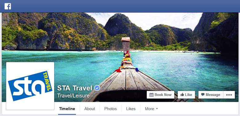 STA Travel on Facebook