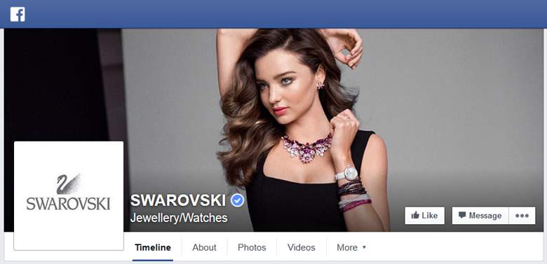 Swarovski on Facebook