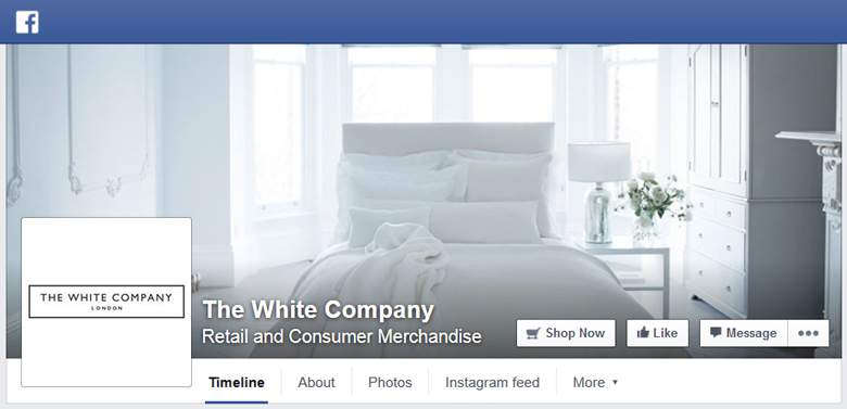 The White Company on Facebook