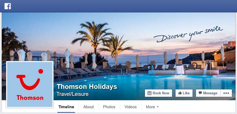 Thomsons on Facebook