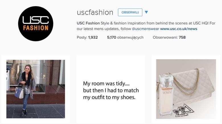 USC on instagram