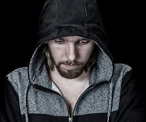 Men's hoodie by Woodhouse Clothing